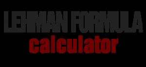 Lehman Formula